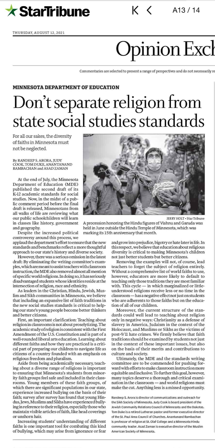 Read more about the article State Social Studies Standards (Commentary)